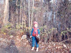 Album perdrix :  Ma fille Nancy en 1988