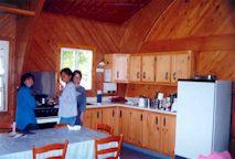 1999-  L'intérieur du chalet au lac des Iles