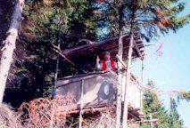 2000-  Le petit mirador construit avec Guy Bergeron