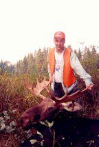 2001-  Le chasseur (Jean McMurray) et son trophée